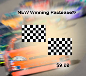Winning Pastease Checkered Flag Pasties