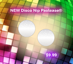 Disco Nip Pasties by Pastease Glitter Circle Pasties